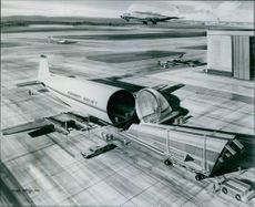 World's Largest Commercial Aircraft: The Colossus. 1971