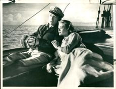 Bing Crosby with his wife.