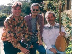 Steve Tilston, Martin Allcock and Pete Zorn of WAZ! group.