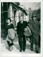 Aneurin Bevan with his wife