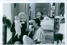 Film: Three Men and a Baby Starring Ted Danson and Celeste Holm 1987