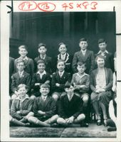 mr wison himself was once a cheerful victim of school uniform.