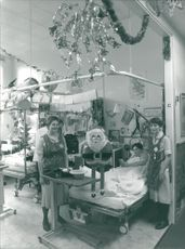 Norwich Hospitals: Interior: Jane Campbell and Hayley Aylmer