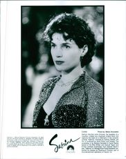 Portrait of Julia Ormond from the film Sabrina.