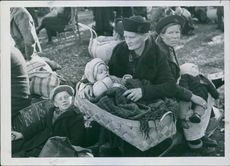 Evacuation of Northern Finland. 1945