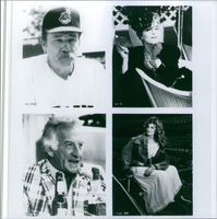Portraits of James Cammon, Bob Uecker, Rene Russo and Margaret Whitton.