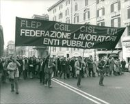 Italy Demonstrations.