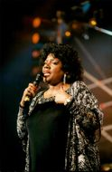 Portrait picture of Gloria Gaynor taken in conjunction with a concert in France.
