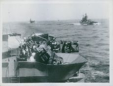 TWO DAY ATTACK ON CONVOY BEATEN OFF England, 1941