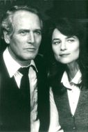 "The actors Paul Newman and Charlotte Rampling in the movie ""Judgment"""