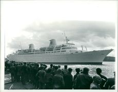 Ship: Kungsholm, New Swedish Liner Built on the Clyde
