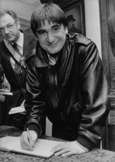 French Rock Star Serge Lama born Serge Chauvier on 11 February 1943 in Bordeaux Photo taken: 1986