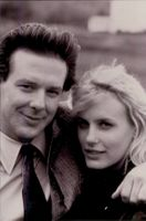 Daryl Hannah and Mickey Rourke