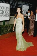 Actress Minnie Driver on the Red Carpet at Golden Globe Awards