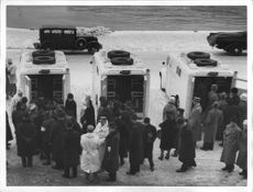 Three of the Royal Automobile Club donated ambulances to the Red Cross.