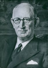Portrait of Sir Leonard Lord painted by the late Maurice Codner, 1959.