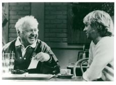"""Mickey Rooney and Dana Carvey in the TV Series """"We're Guys Between"""" on TV1Mickey Rooney"""