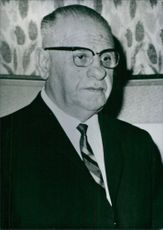 Portrait of Pres. Cevdet Sunay, 1971.