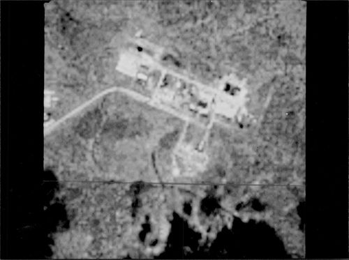 Satellite image of a previously unknown Soviet base.