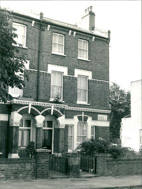 The house at 65 oseney in kentish town.