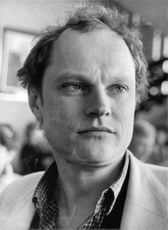 Christopher Neame in a portrait.
