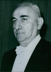 Turkish Politician: Cemal Gursel. 1963
