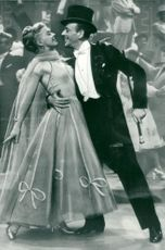 """Ginger Rogers and Fred Astaire in """"We Dance Again"""""""
