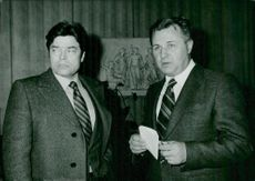 Boris Pankin and Evgeni Chistiakov