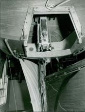 Glimpse of a boat's compartment.  Taken - Circa 1965