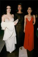 Francesca Dolores, Dalidati Azzaro and Ornella Muti on festivals at the Monaco Grand Prix.