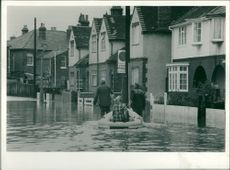 Floods 1966-1989:Houses with an undesirable river.