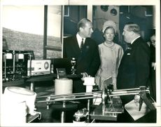 Baron Errol with his wife and dr Schneider.