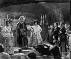 Scene from a film 'Cartacahla'.  - 1946
