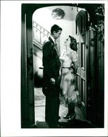 James Stewart with Donna Reed in It's a Wonderful Life 1946