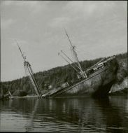 Photo of Wrecked German cargo vessel