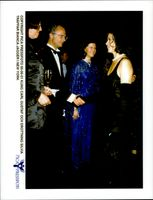 Bianca Jagger meets King Carl Gustaf and Queen Silvia