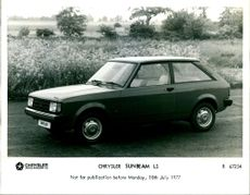 Motor Car: Chrysler Sunbeam