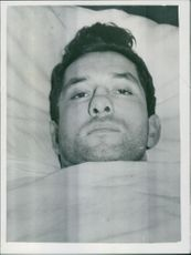 George Miterko  George Miterko one of the surviving crew members of the American freighter Flying Enterprise, lies in a Liverpool Hospital suffering from shock, and back, knee and arm injuries.