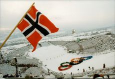 From the opening of the Winter Olympics in Lillehammer