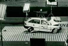 Crash test Opel Astra