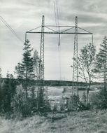 Great Mother's Fors. 380 kv line from Stornorrfors