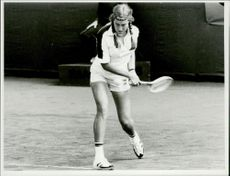 Tennis player Lena Sandin