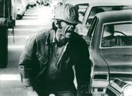"""Actor Jack Nicholson in the movie """"Five Easy Pieces"""""""