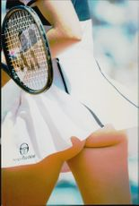 Martina Hingis participates in the French Open Championship