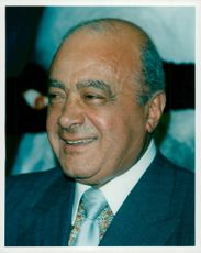 Mohamed Al-Fayed, ägare av Harrods och Punch Magazine
