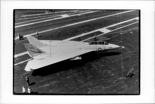 A US military plan of type F-14.
