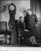 Jussi Björling and his wife Anna-Lisa Björling, 1945.