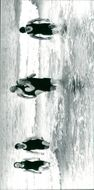 St Andrew's Church swimmers return to the shore