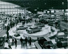 A car show in Tokyo, Japan.  - Oct 1961