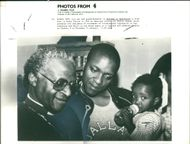 Tutu Desmond: his son and grand daughter